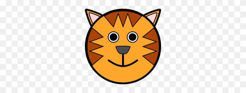 260x260 Red Fox Clipart - Tabby Cat Clipart
