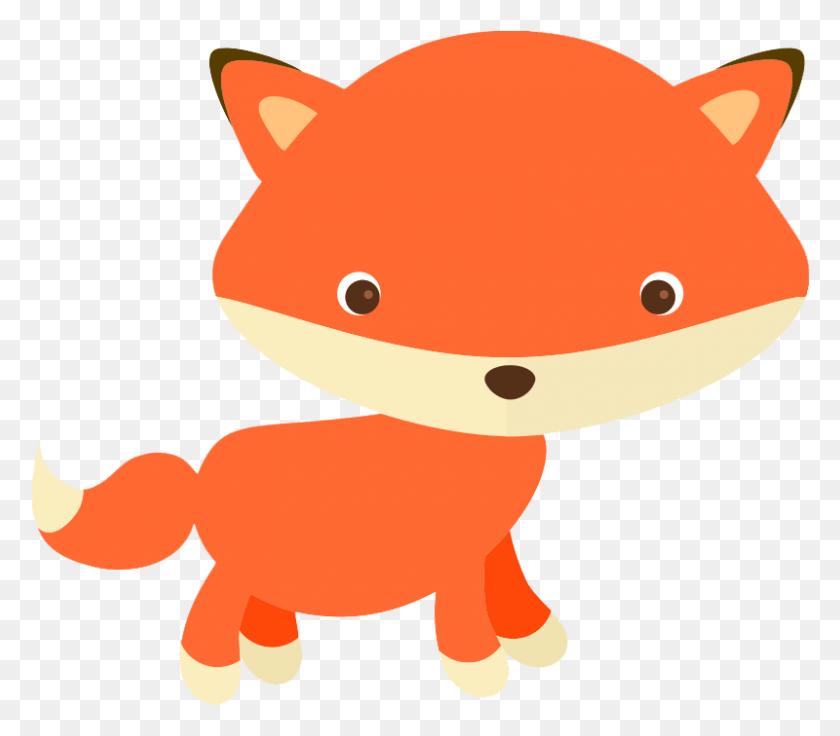 Red Fox Clipart Woodland Fox - Woodland Tree Clipart
