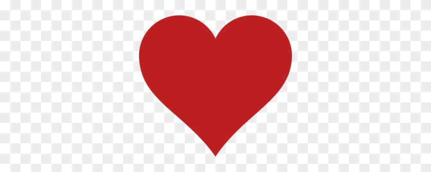 Red Heart Clip Art - Heart Silhouette Clip Art