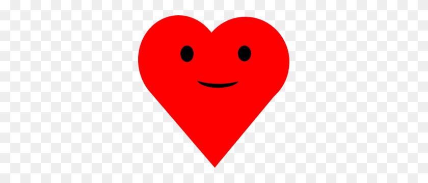 Red Heart Smile Clip Art - Smile Clip Art Free