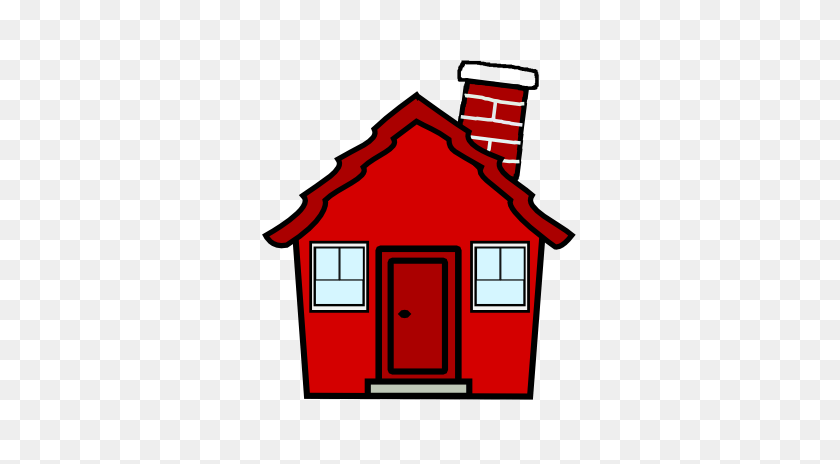 Red House Cliparts - Old House Clipart