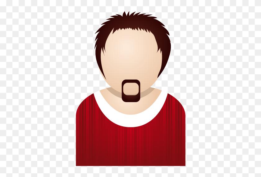 Red Man Icon People Iconset Dapino - Man Icon PNG