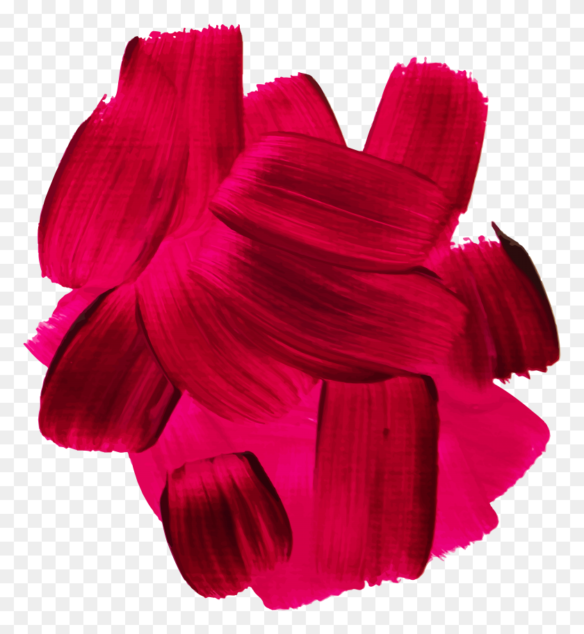 Red Oil Paint Clip Art Png - Red Paint PNG