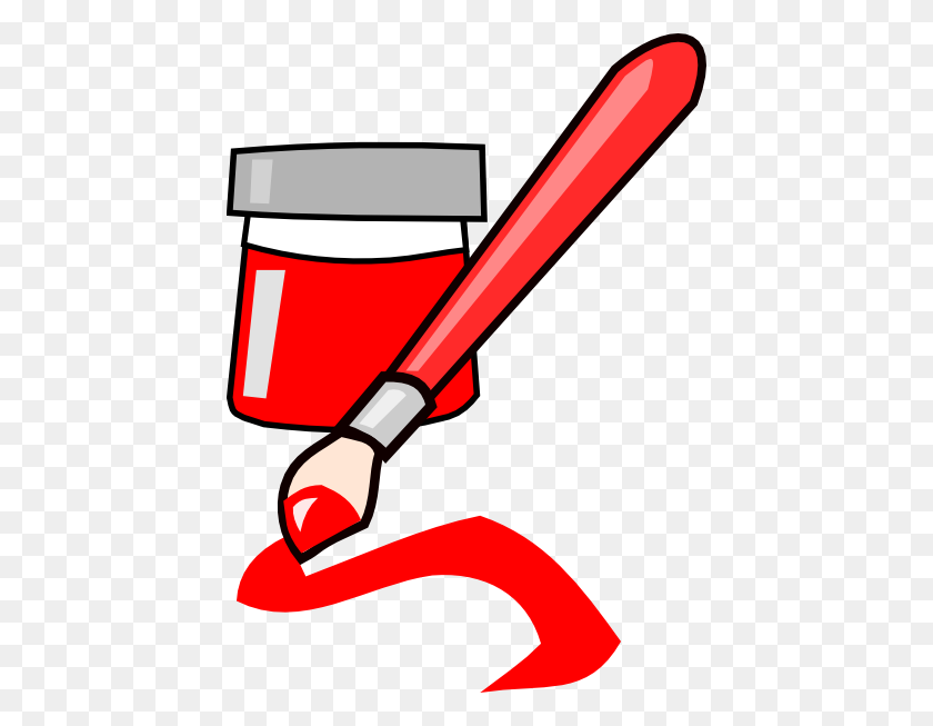 Red Paint Clip Art - Red Paint PNG