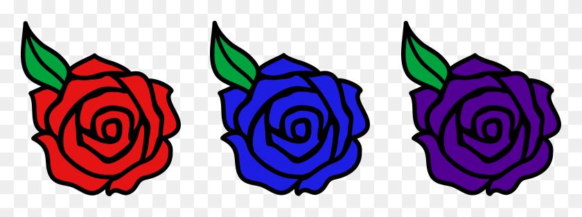Red Valentine Roses Clip Art