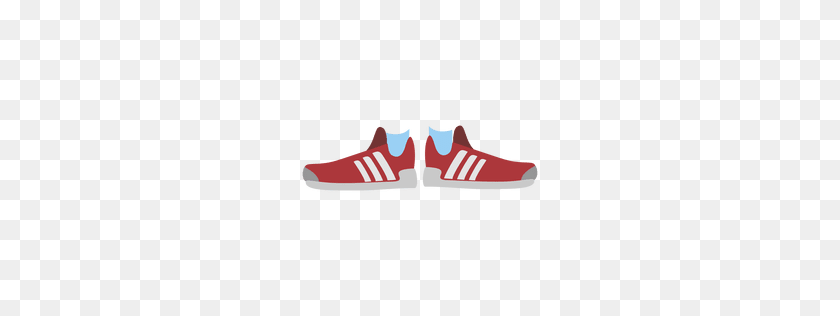 Red Shoes Sneakers - Sneakers PNG