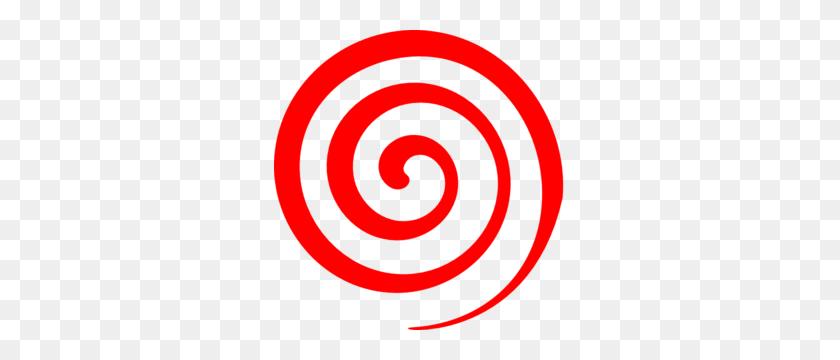 291x300 Red Spiral Lollipop Clip Art - Lollipop Clipart