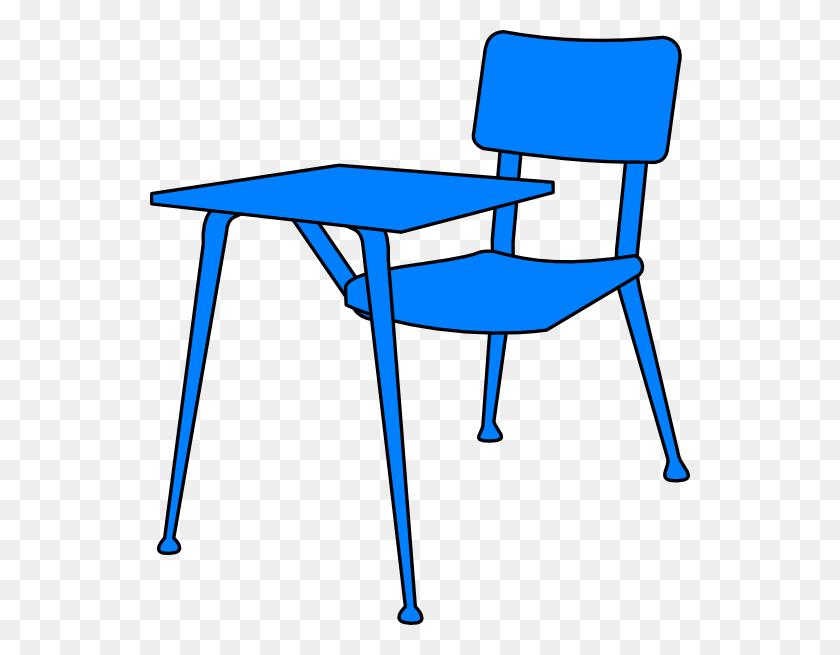 540x595 Red Student Desk Chair Clip Art - Monsters University Clipart