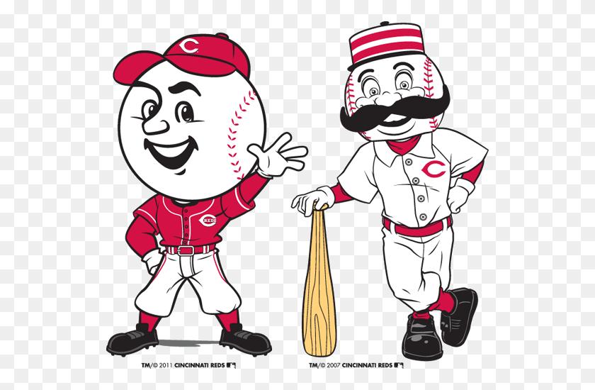 Reds Mascots Greeneville Reds - Cincinnati Reds Clip Art