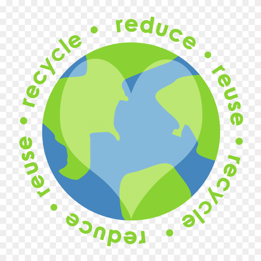 Reduce Reuse Recycle Earth Png Transparent Reduce Reuse Recycle - Recycle Logo PNG