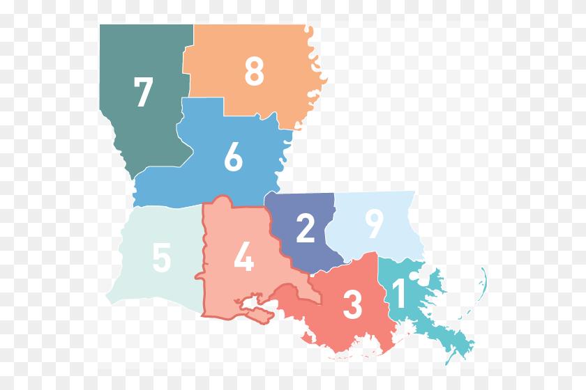 Region Louisiana Emergency Response Network - Louisiana PNG