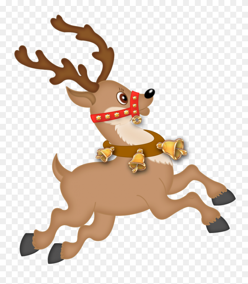 graphic relating to Printable Reindeer Face titled Reindeer Clip Artwork Printables No cost Clipart Illustrations or photos - Reindeer