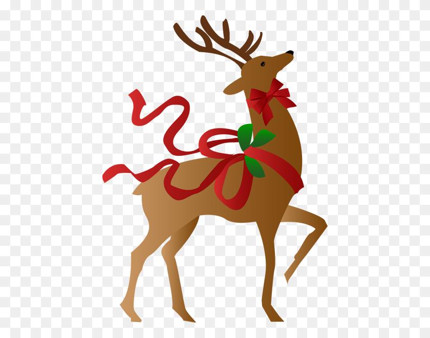 Reindeer Clipart Free - Reindeer Head Clipart