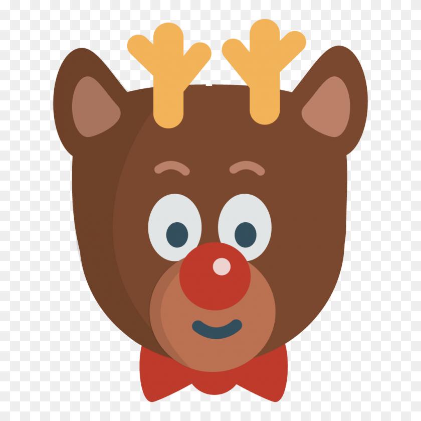 Reindeer Clipart Image Leaping Reindeer - New Members Clipart