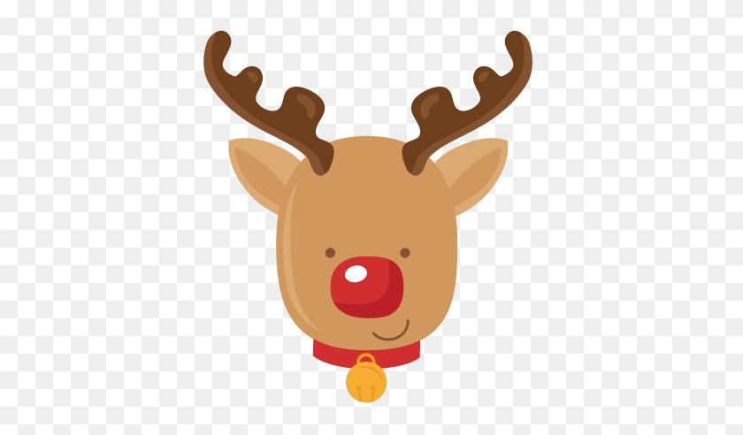 Reindeer Scrapbook Cute Clipart For Silhouette - Deer Silhouette PNG