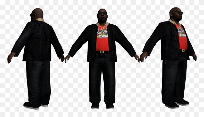 Rel Jamal Jefferies Fat Man,looks Kinda Like Rick Ross - Rick Ross PNG