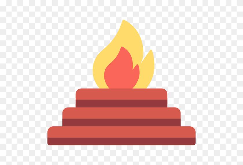 512x512 Religion, Ritual, Hinduism, Cultures, Yagna, Sacrifice, Vedic Icon - Sacrifice Clipart