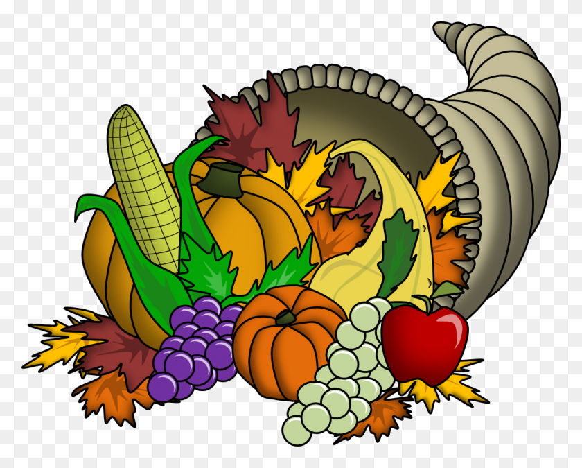 Religious Thanksgiving Clipart Happy Family - Religious Thanksgiving Clipart