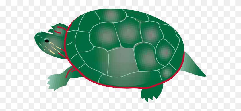 Reptile Clipart Snapping Turtle - Sea Turtle Clipart Black And White