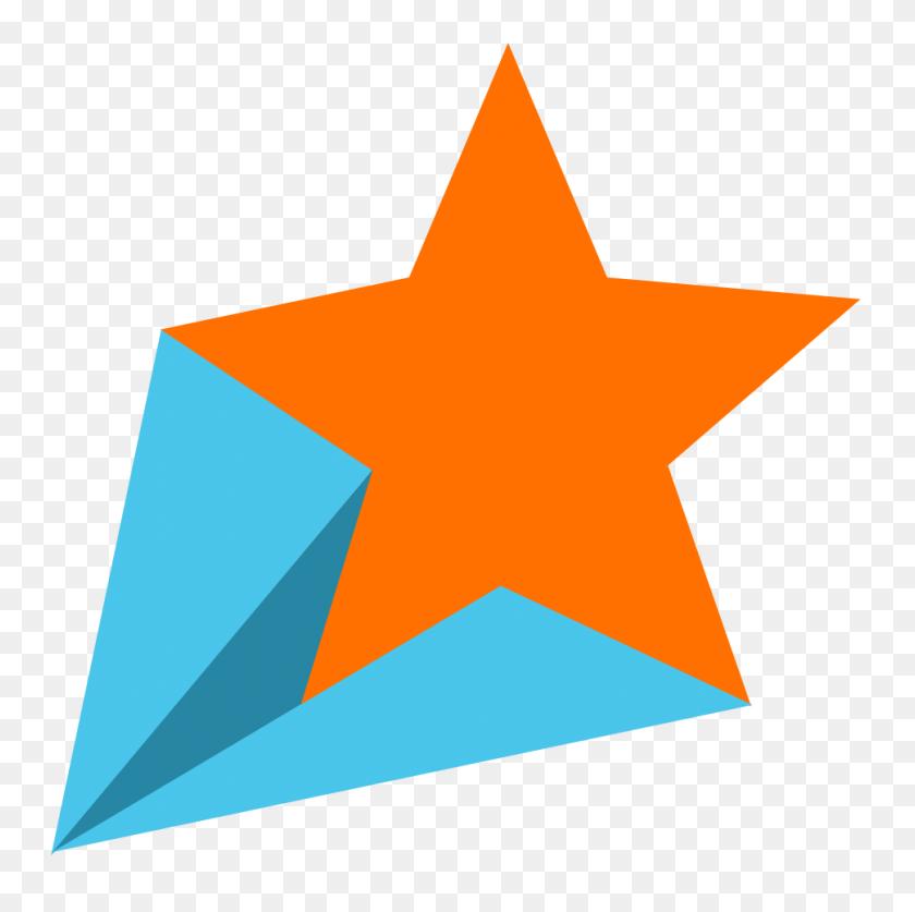 Retro Shooting Stars Clipart - Shooting Stars PNG