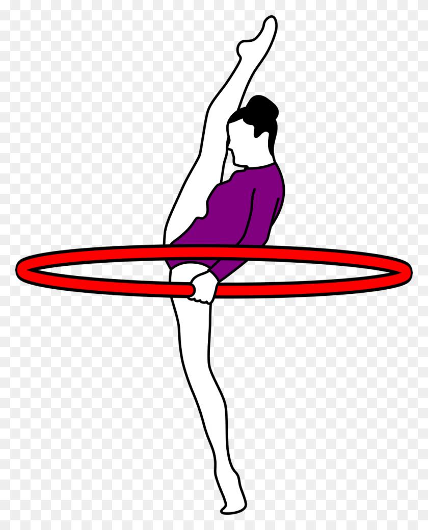 Rhythmic Gymnastics Clip Art - Free Gymnastics Clipart
