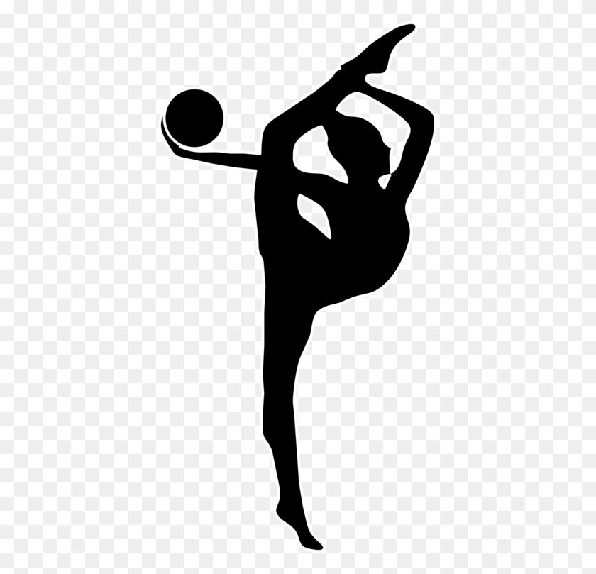 Rhythmic Gymnastics Ribbon Ball Artistic Gymnastics Free - Free Gymnastics Clipart