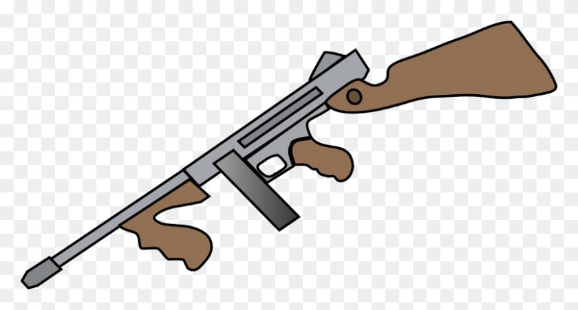 800x402 Rifle Cliparts Free Download Clip Art - M4 Clipart