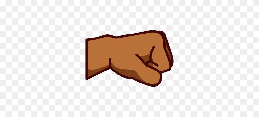 Right Facing Fist - Fist Emoji PNG
