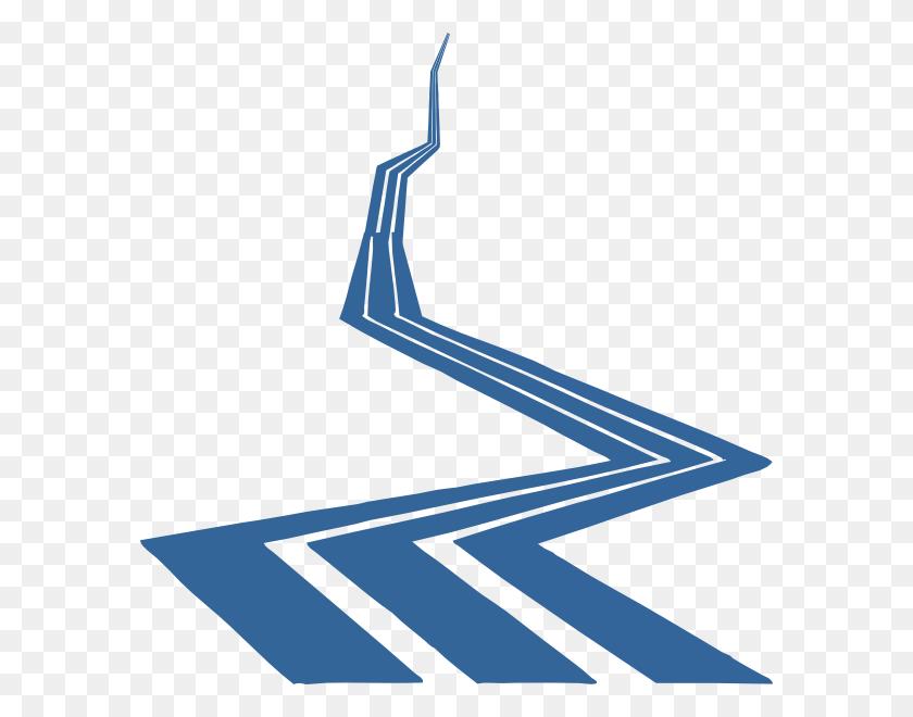 Road Clip Art - Winding Road Clipart