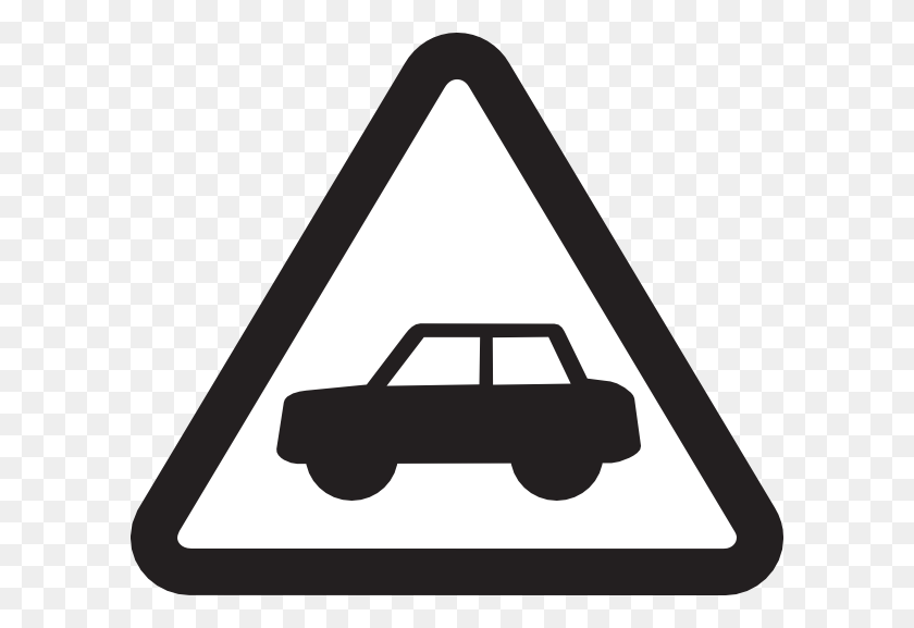 Road Safety First Clip Art - Safety Clipart Black And White