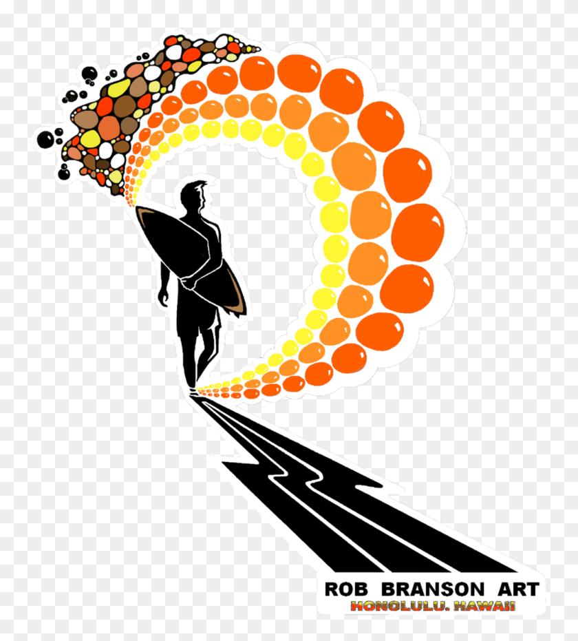 Rob Branson Art Alohaaccessoriesabout - Hula Girl PNG