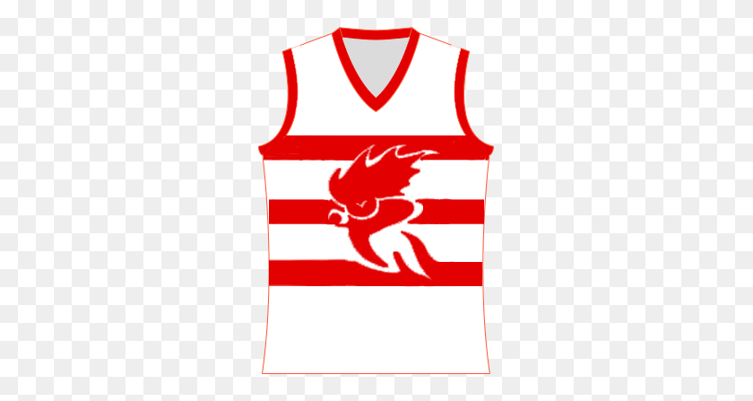 263x387 Robe Roosters Jumper - Robe PNG