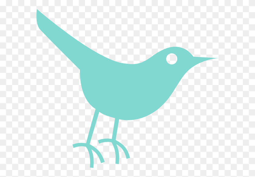 600x523 Robins Egg Twitter Bird Clip Art - Magpie Clipart