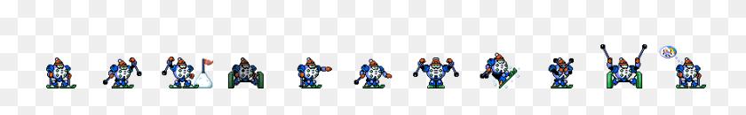 1760x160 Robot Sprite Editors Mega Man Game Development Community - Megaman Sprite PNG