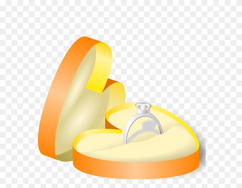 Rockraikar Wedding Ring In A Box Clip Art - Marriage Rings Clipart