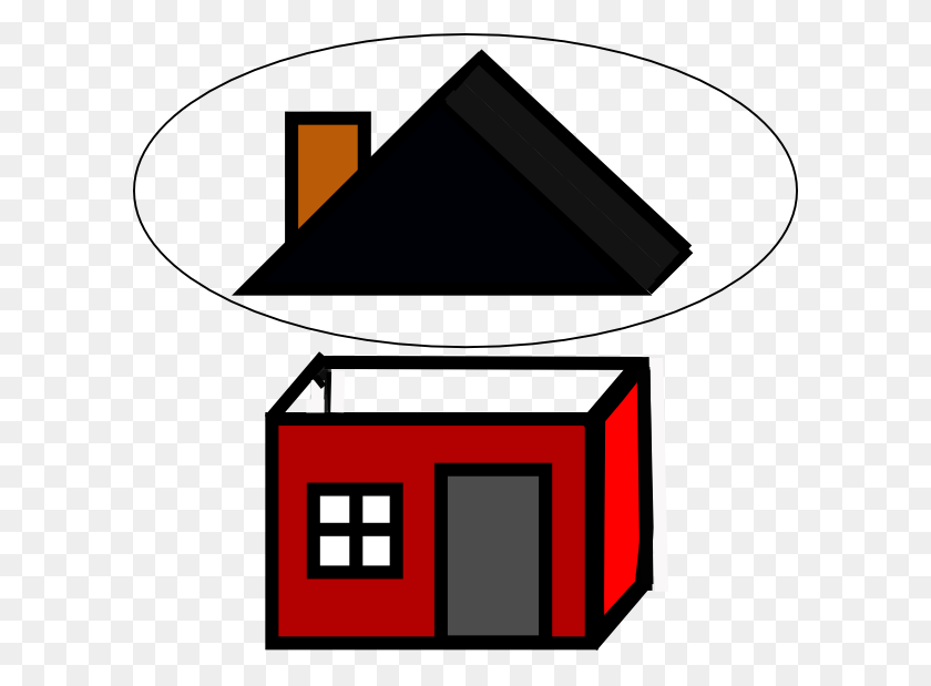 600x559 Roof Clipart - Roof Clipart