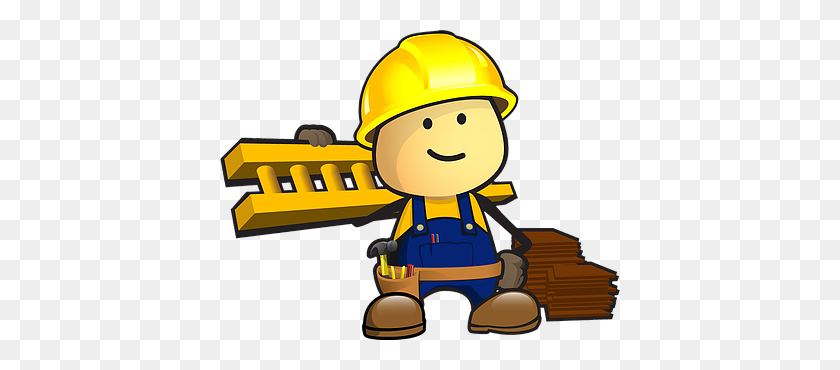 Roofing Man Clipart Clip Art Images - Construction Man Clipart