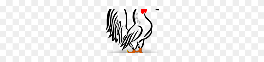 200x140 Rooster Clipart Free Rooster Pictures To Print Roosters Original - Pineapple Clipart Free