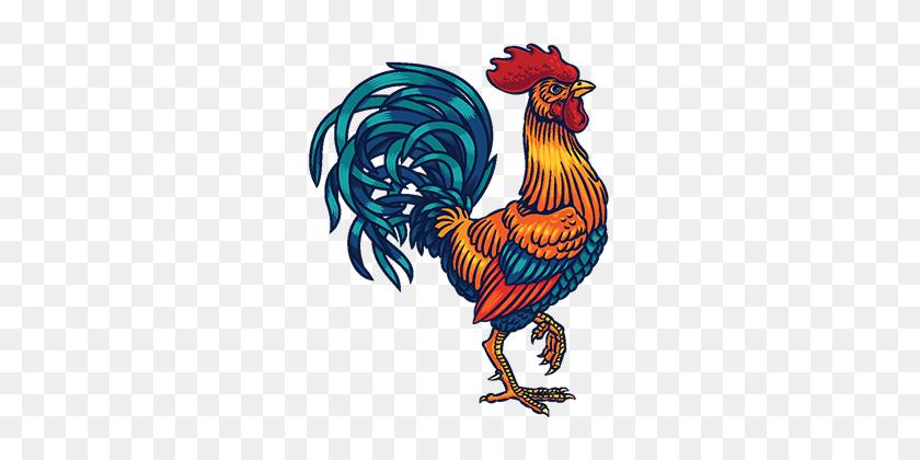 Rooster Tait, Rooster Huge Benefits, Struck Huge Benefits - Rooster PNG