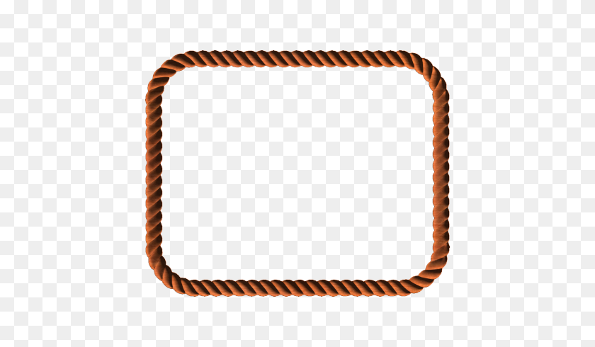 Rope Border - Nautical Border Clip Art