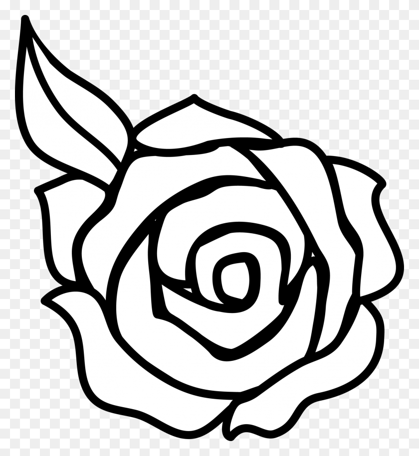 Rose Drawings Black And White Desktop Backgrounds - Letter R Clipart Black And White