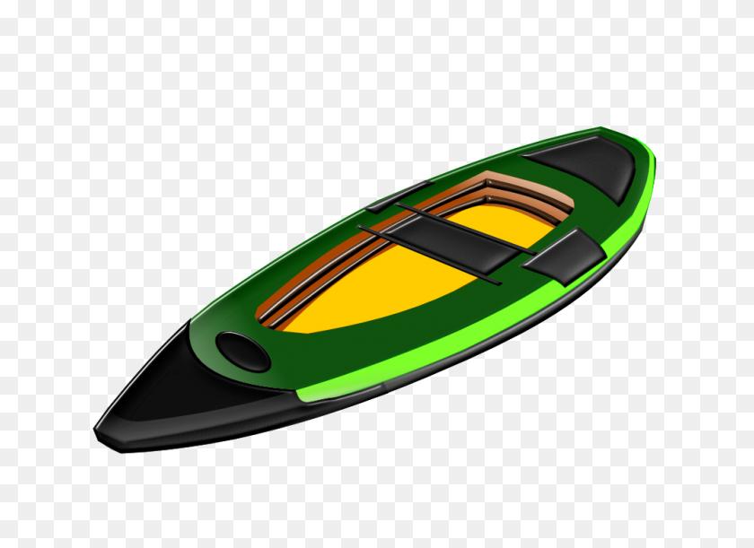 Row Boat Clipart Green Boat - Motor Boat Clipart