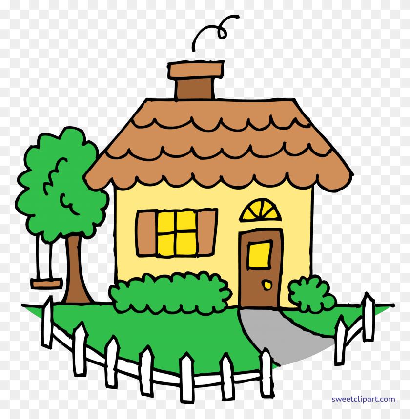 Row Houses Clip Art House Cartoon Clipart - Row Clipart