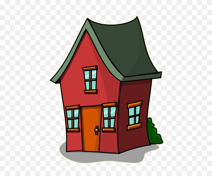 Row Houses Clip Art House Clipart Of Cartoon Winging - Big House Clipart