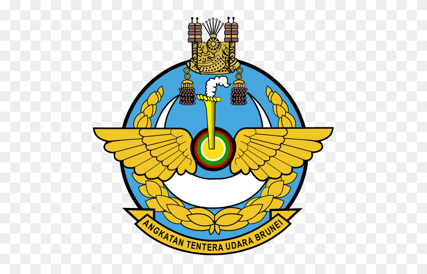 Royal Brunei Air Force Emblem - Air Force Emblem Clip Art