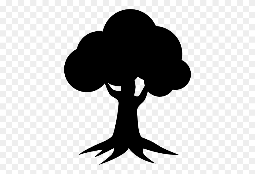 Royal Oak Homes Logo Of Tree Silhouette - Oak Tree Silhouette PNG