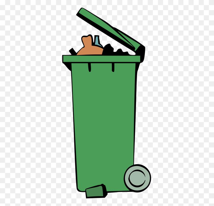 Rubbish Bins Waste Paper Baskets Recycling Bin Dumpster Free - Recycle Bin Clipart