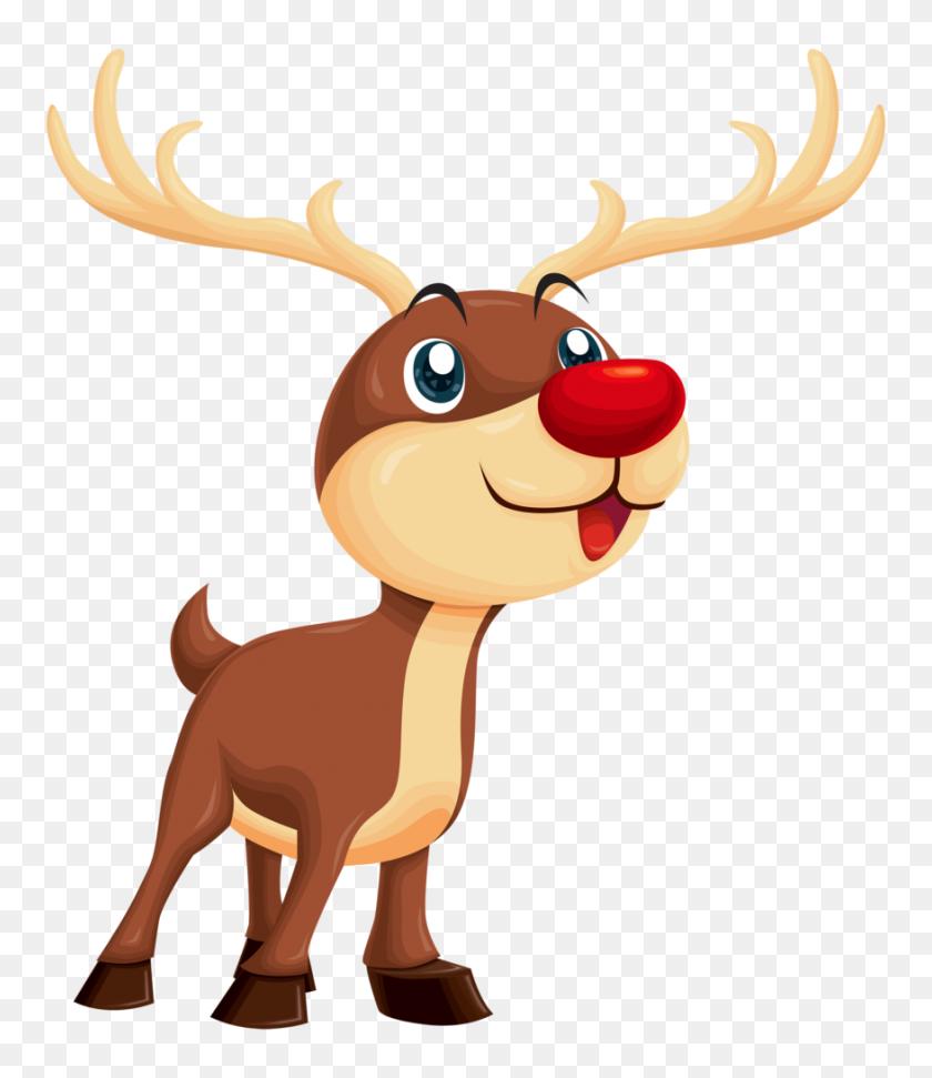 Rudolph Png Clipart Clip Art - Deer Antlers Clipart