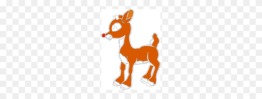 Rudolph The Red Nosed Reindeer Clipart - Reindeer Antlers Clipart
