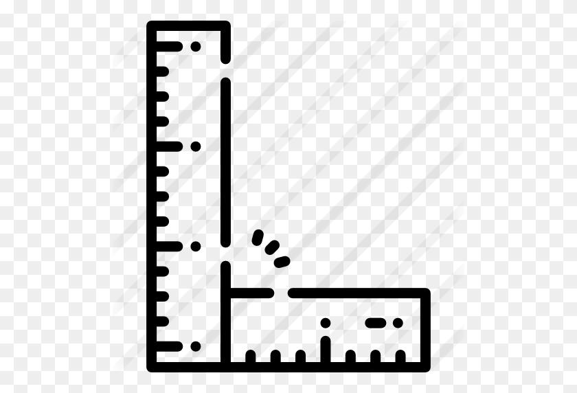 Ruler - Ruler Black And White Clipart